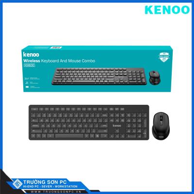 Bộ Bàn Phím Chuột Không Dây KENOO KM600 | USB Wireless